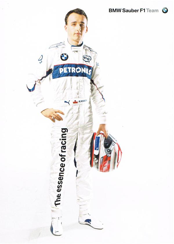 【ドライバーズカードフェアー対象商品】2006 BMWザウバー ドライバーズカード R.クビサ