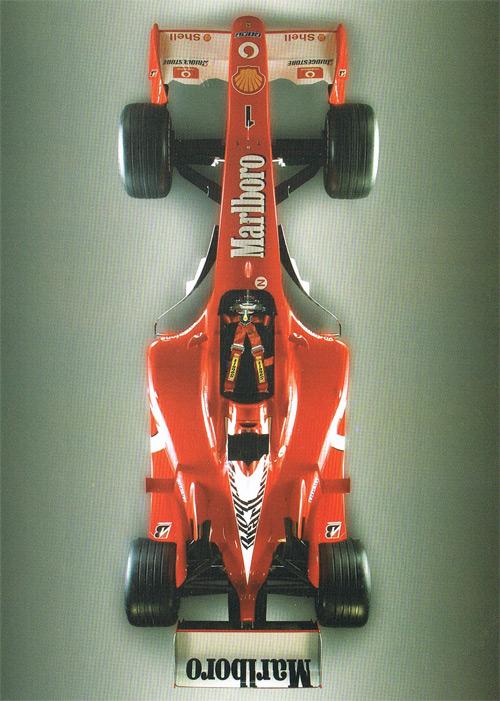 フェラーリ Sabelt スポンサーカード