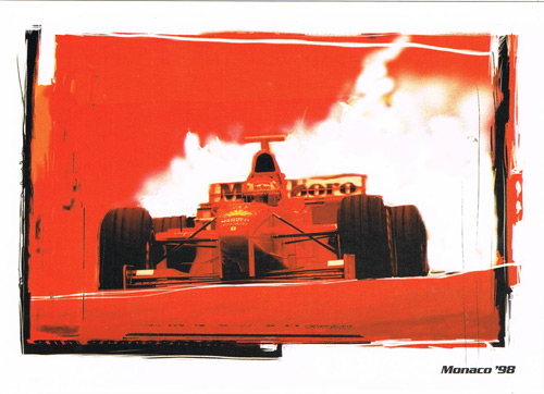 1998 モナコGP GRANDPRIXカード フェラーリ M.シューマッハ カード