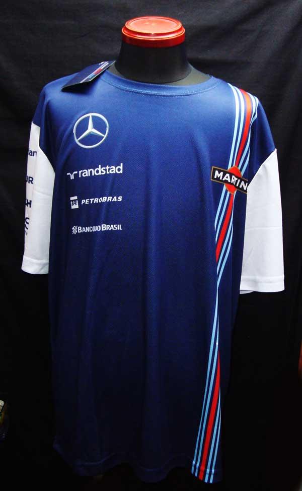 2014年 ウィリアムズ チーム支給品 Tシャツ サイズXL 新品