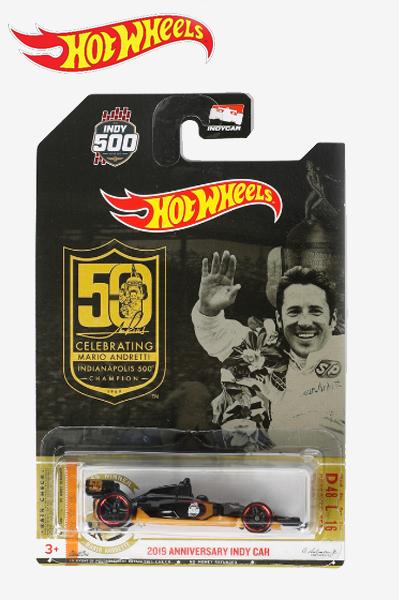 【並行輸入品】ホットウィール マリオ・アンドレッティ インディ500優勝 50周年記念 モデル