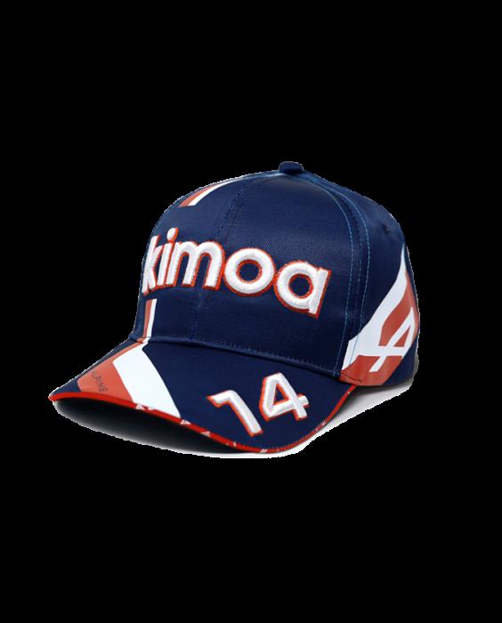 2021 アルピーヌF1チーム F.アロンソ ドライバーズキャップ ベースボールタイプ(KIMOA製)