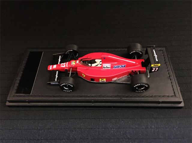 GP-REPLICAS(トップマルケス)1/43 フェラーリF1-89(640) N.マンセル No.27 当店オリジナルタバコロゴモデル