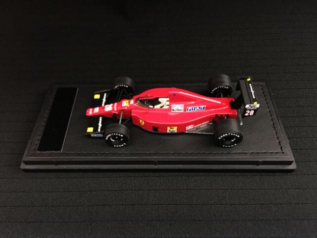 GP-REPLICAS(トップマルケス)1/43 フェラーリF1-89(640) G.ベルガー No.28 当店オリジナルタバコロゴモデル