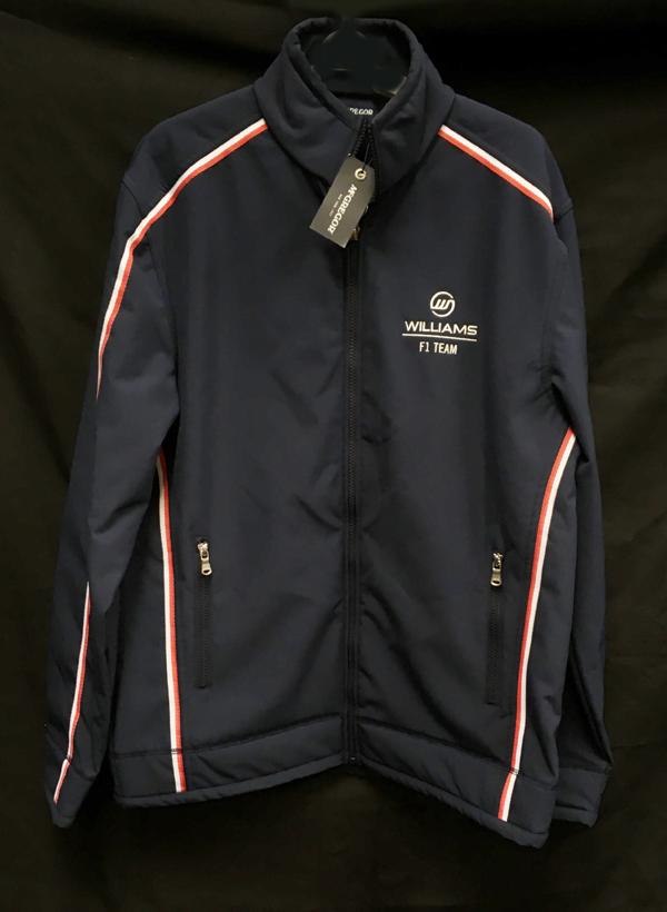 2013 ウィリアムズ チーム支給品 ソフトシェルジャケット サイズL USED(新品同様タグ付き)