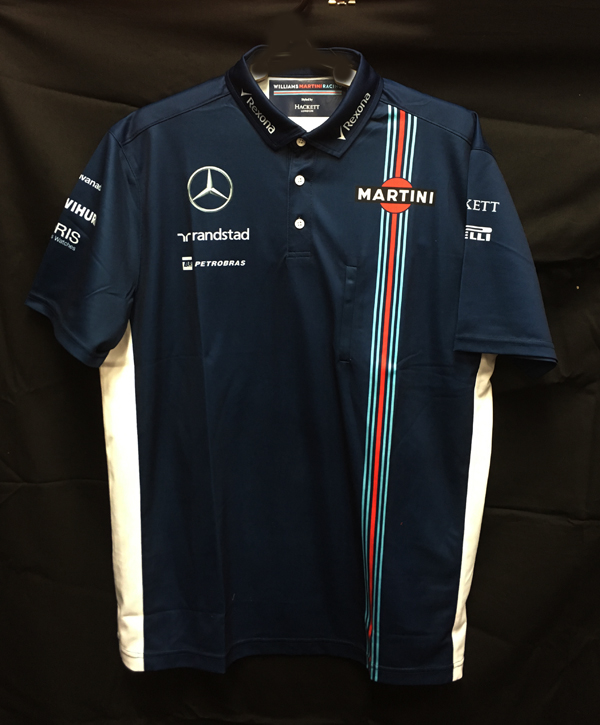 2016 ウィリアムズ チーム供給品 ポロシャツ サイズXL 新品(袋付き)