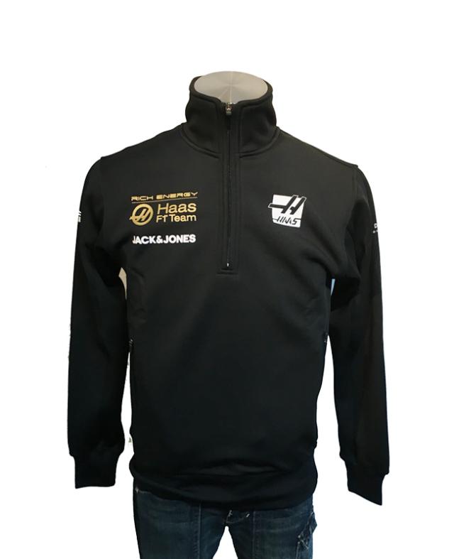 【SALE】ハースF1チーム 2019 チーム支給品 チームスウェットシャツ(interrimTracksweatshirt) 新品 サイズXS