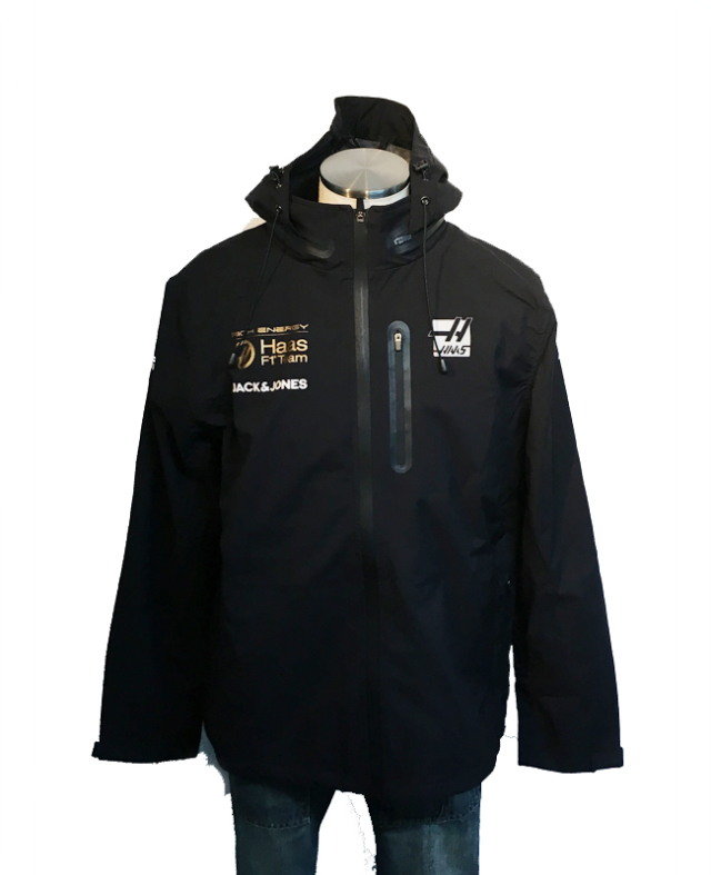 【SALE】ハースF1チーム 2019 チーム支給品 チームレインジャケット(interrimTrackRainJacket) 新品 サイズL