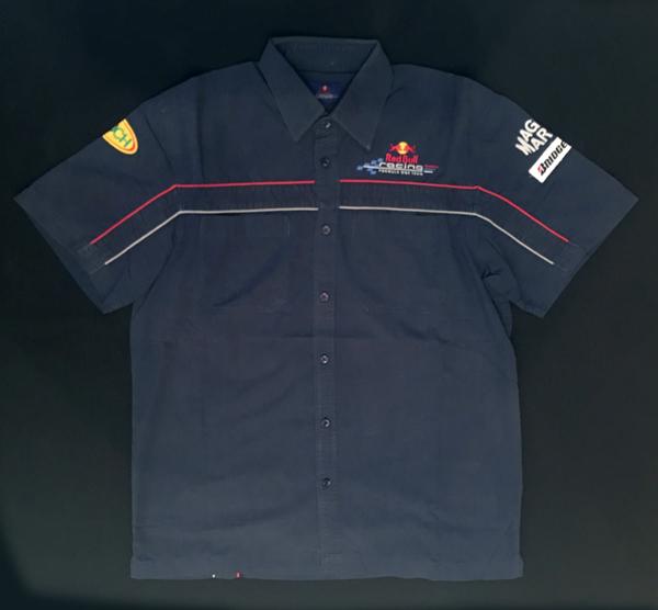 2006年 レッドブル チーム支給品 ピットシャツ USED サイズL