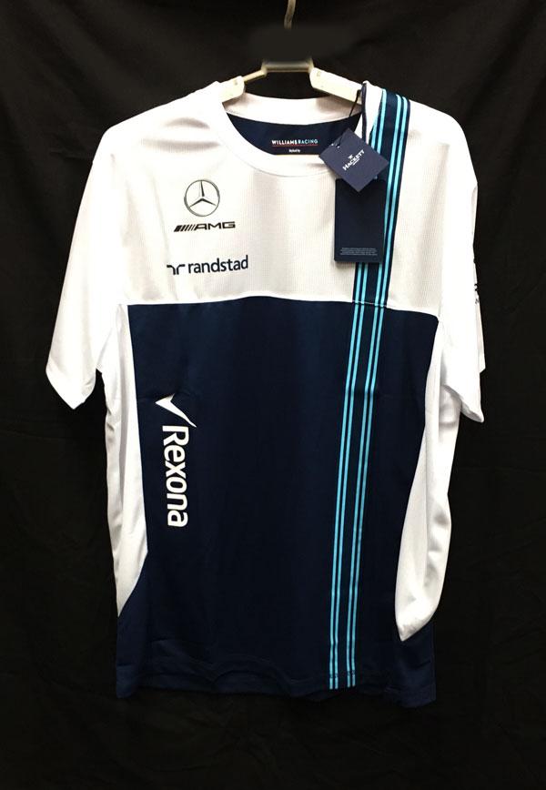 【SALE】2017 ウィリアムズ チーム支給品 Tシャツ ロシアGP用 新品タグ付き サイズXL