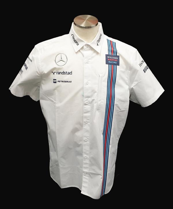 2016 ウィリアムズチーム支給品 PITシャツ ロシアGP用 サイズXL 新品