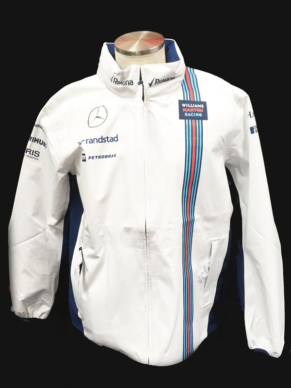 2016 ウィリアムズチーム支給品 レインジャケット ロシアGP用 サイズL 新品