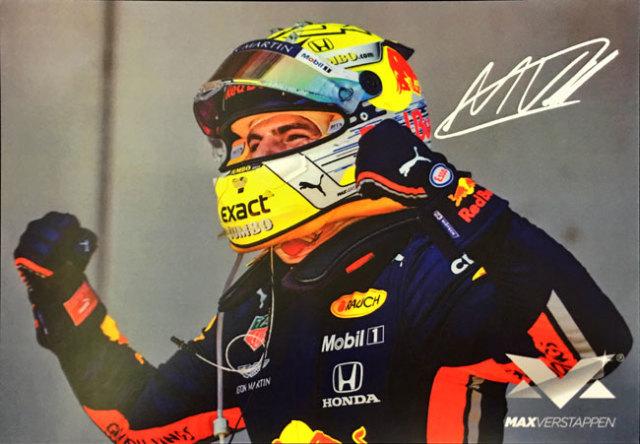 レッドブル ホンダ F1 2019 M.フェルスタッペン オフィシャルショップ プロモーションカード