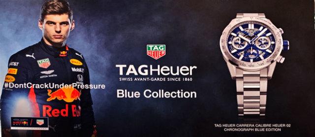 タグ・ホイヤー(TAG Heuer) ブルーコレクション プロモーションカード