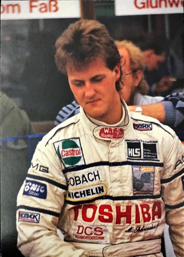 ミハエル・シューマッハ 1989 F3 レーナード MSコレクションカード