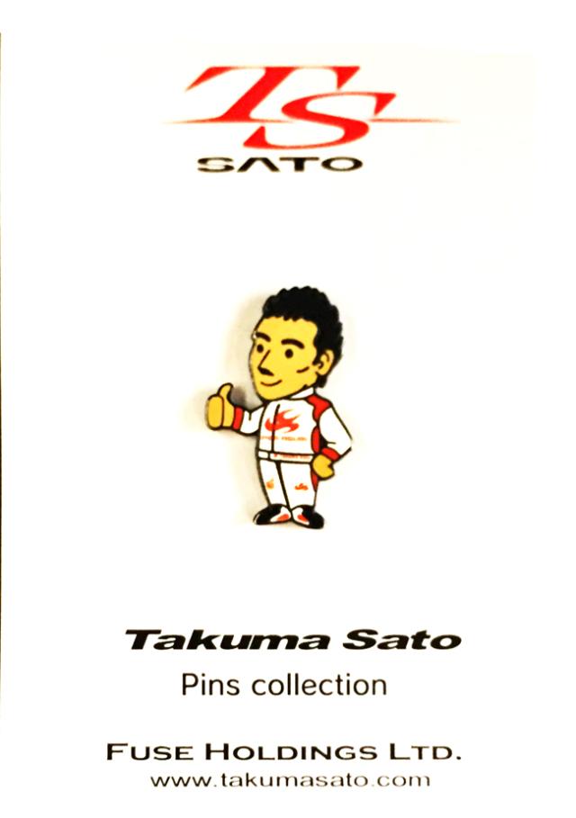 佐藤琢磨 ピンバッチ スーパーアグリ時代