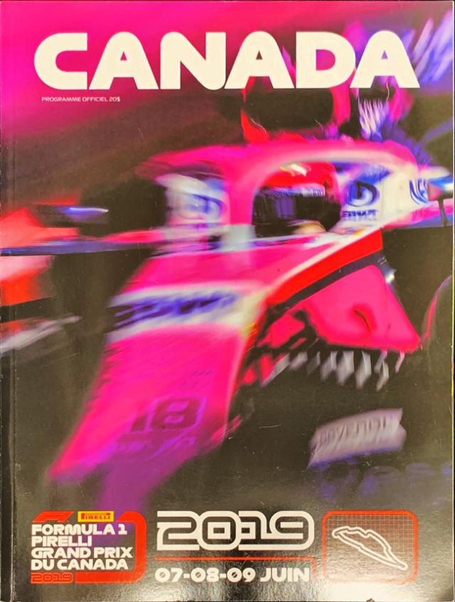 F1公式プログラム 2019 カナダGP