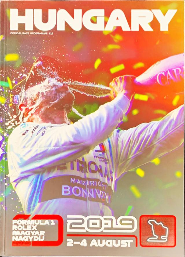 F1公式プログラム 2019 ハンガリーGP