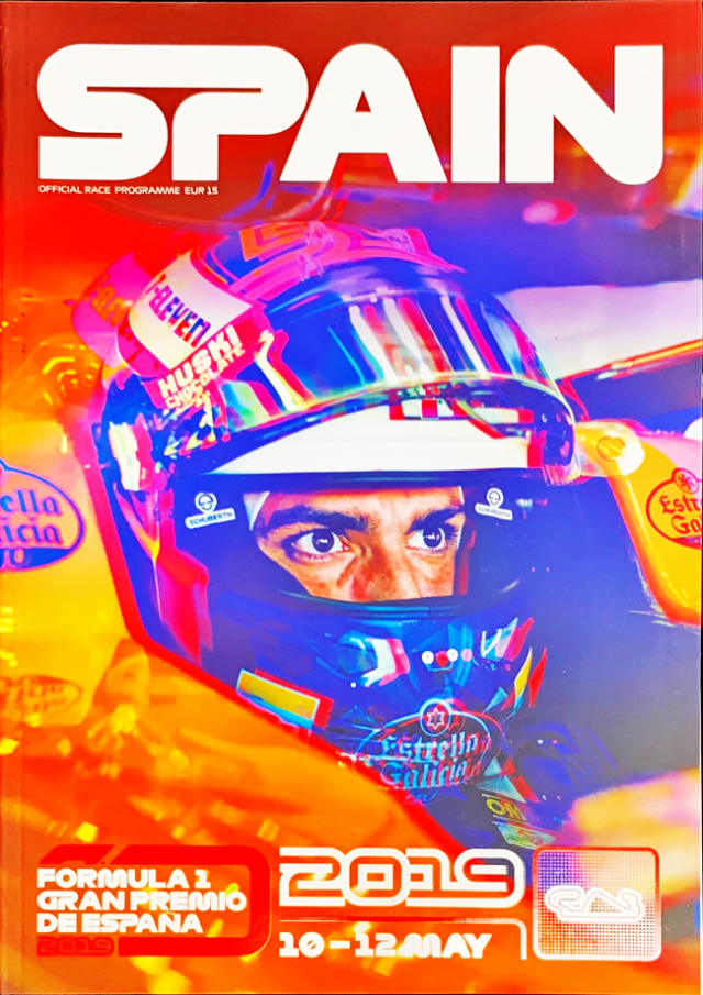F1公式プログラム 2019 スペインGP