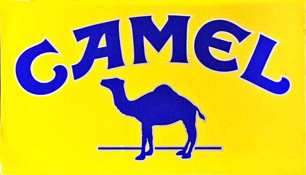キャメル(CAMEL)1990年代 プロモーションステッカー