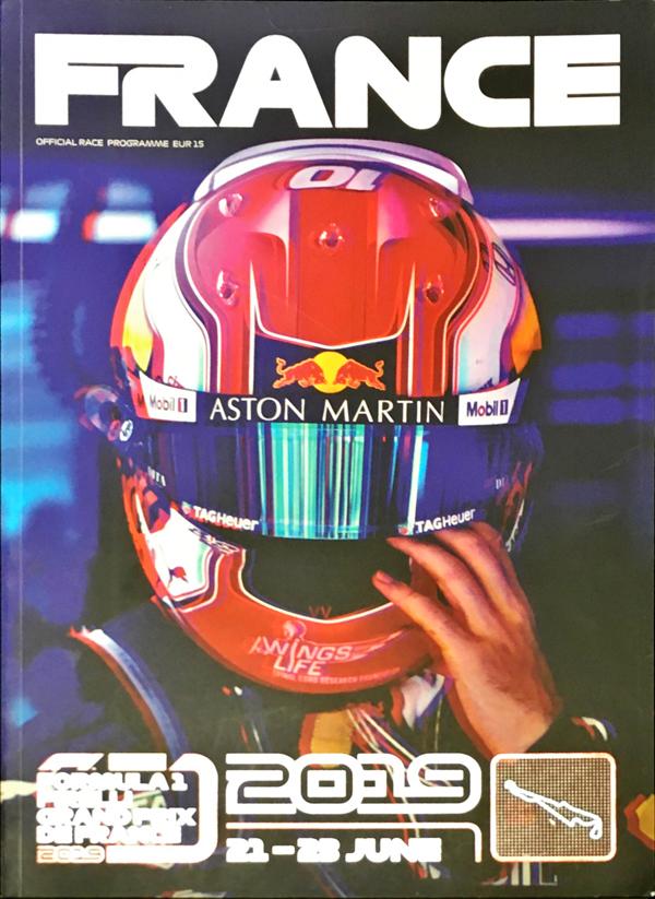F1公式プログラム 2019年フランスGP