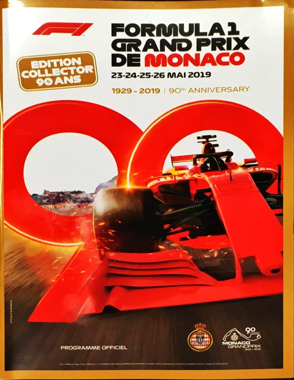 F1公式プログラム 2019年モナコGP