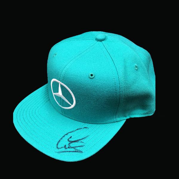 L.ハミルトン 直筆サイン入 2016年マレーシアGP限定 L.ハミルトン ドライバーズキャップ