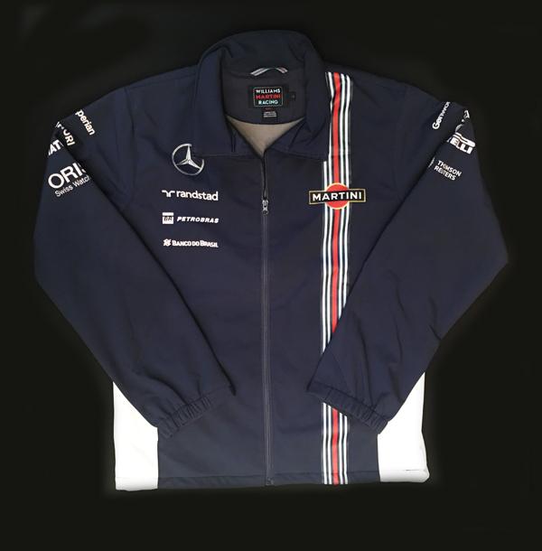 【SALE】2014年 ウィリアムズ チーム支給品 ソフトシェルジャケット USED (ほぼ新品) サイズL