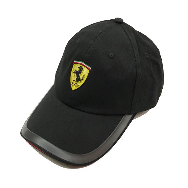 フェラーリ パドッククラブ ゲスト用 SFキャップ ブラック