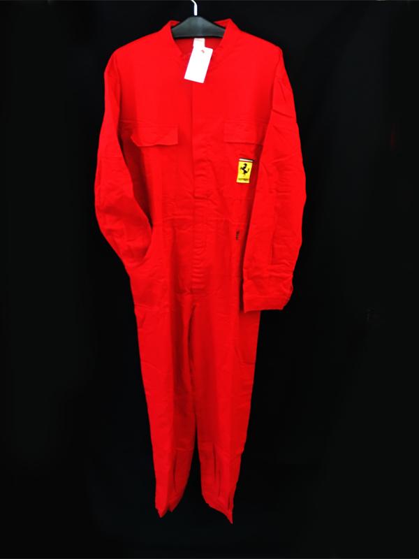 フェラーリ マラネロ ガレリアフェラーリ(フェラーリ博物館)限定 マラネロ工場指定ジャンプスーツ サイズL(大きめ)