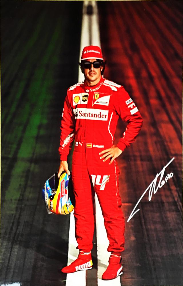 2014フェラーリドライバーズカード F.アロンソ (カードのみ)