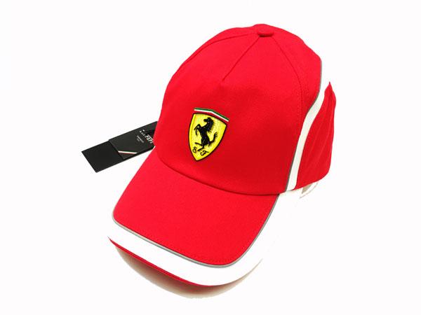 フェラーリ F1パドッククラブ ゲスト用 SFラインキャップ レッド