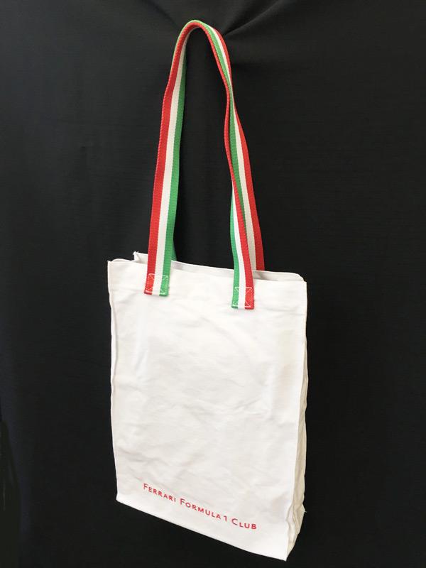 フェラーリ パドッククラブ ゲスト用 フェラーリ F1クラブ トートバッグ