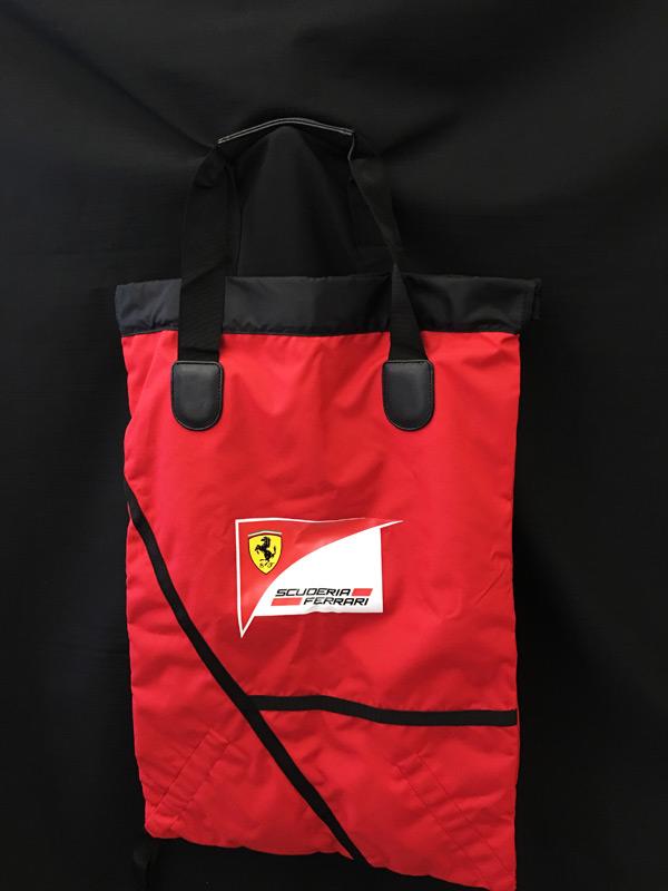 フェラーリ パドッククラブ ゲスト用 リバーシブルバッグ