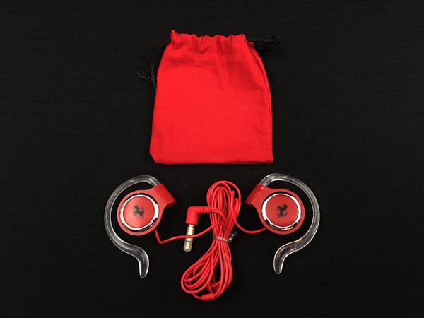 フェラーリ フィオラノ工場 見学者用イヤホン 専用袋付