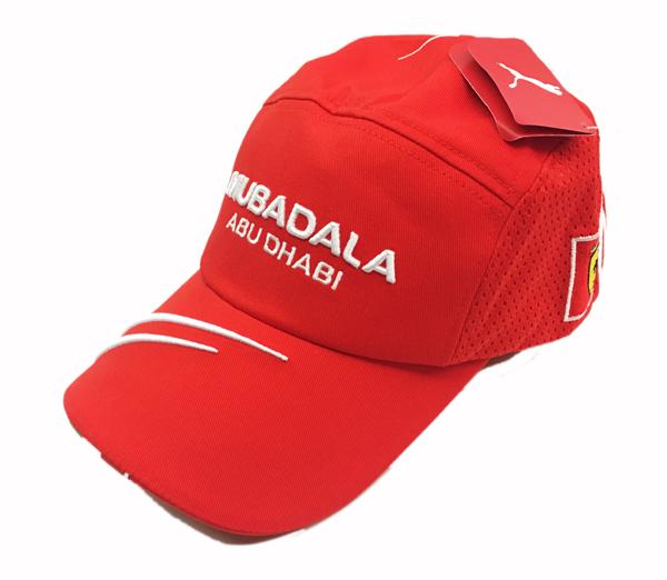 2007 フェラーリ パドッククラブ ゲスト用 スクーデリアフェラーリ MUBADALA キャップ 新品(タグ付)
