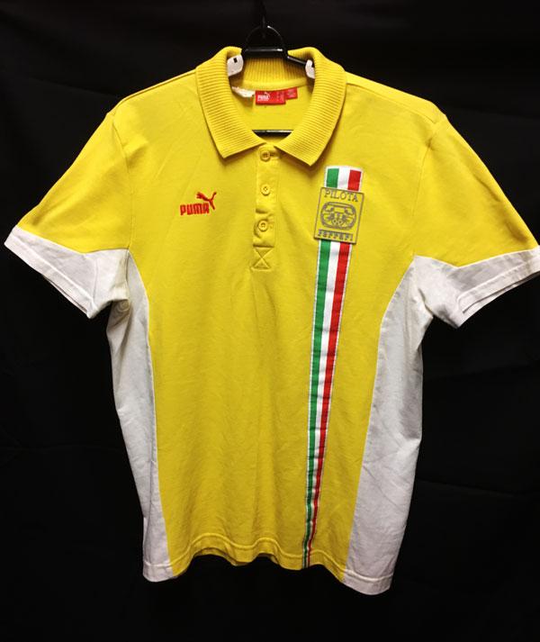 フェラーリ コロソピロタ レーシングスクール ポロシャツ サイズM USED