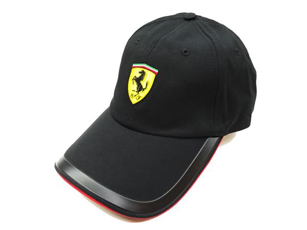 FERRARI フェラーリ F1パドッククラブ ゲスト用 SFキャップ ブラック