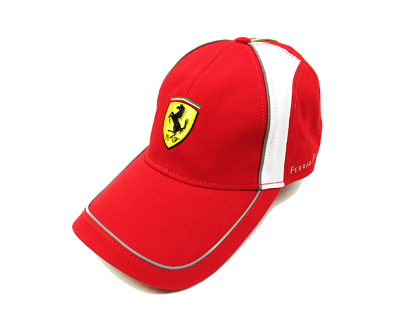 FERRARI フェラーリ F1パドッククラブ ゲスト用 SFキャップ イタリアンライン