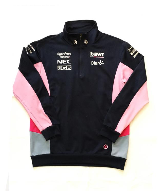 2019  レーシング・ポイントF1 チーム支給品 スエットジャケット USED サイズL