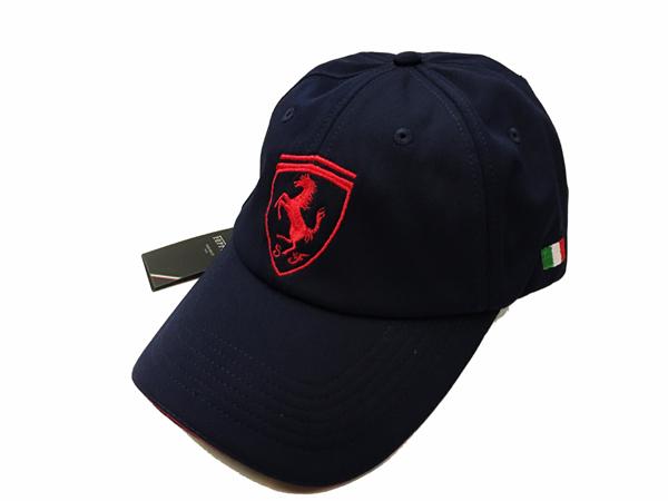 フェラーリ F1パドッククラブ ゲスト用 SFキャップ ブラック