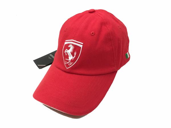 フェラーリ F1パドッククラブ ゲスト用 SFキャップ レッド