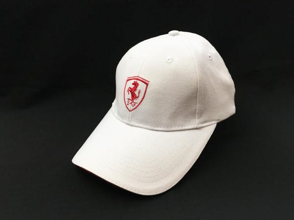 フェラーリ F1パドッククラブ ゲスト用 SFキャップ ホワイト