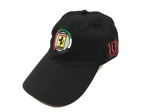 フェラーリ アブダビグランプリ開催10周年記念キャップ