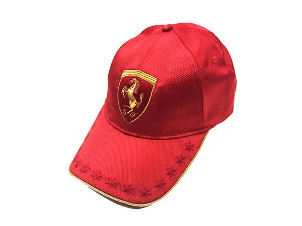 フェラーリ F1パドッククラブ ゲスト用 ゴールドSFキャップ