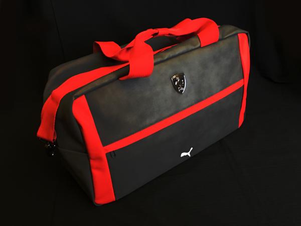 フェラーリ F1パドッククラブ ゲスト用 ウイークエンダーバッグ ダークグレイ