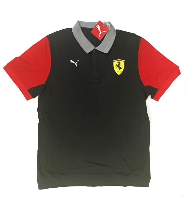 フェラーリ F1パドッククラブ ゲスト用 ポロシャツ ダークグレイ