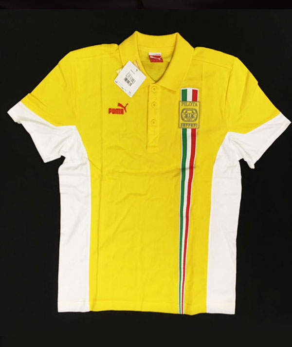 フェラーリ コロソピロタ レーシングスクール ポロシャツ サイズM 新品