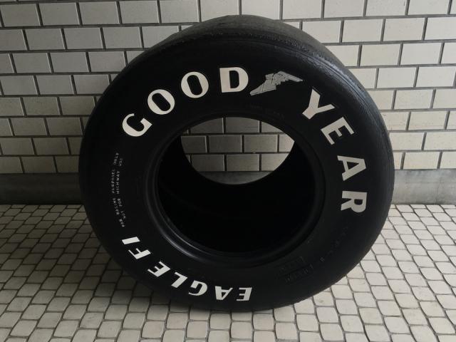 GOODYEAR(グッドイヤー)F1 使用済みスリックタイヤ