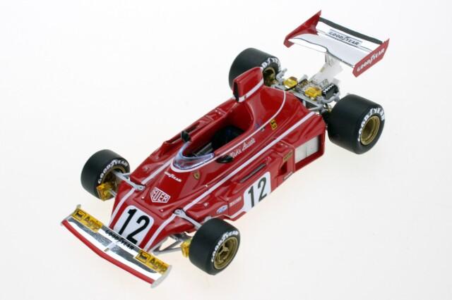 GP-REPLICAS(トップマルケス) 1/43 フェラーリ 312B3 N.ラウダ 1974 No.12